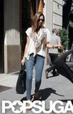 Miranda Kerr and Orlando Bloom Get Busy in NYC