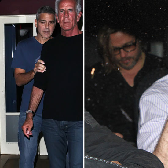 George Clooney Does Drinks With Brad Pitt After Meeting Up With Jennifer Aniston