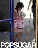 Suri Cruise left her NYC home.