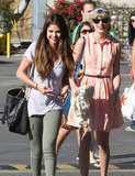Taylor Swift and Selena Gomez Meet Up in Malibu For a Fun Lunch