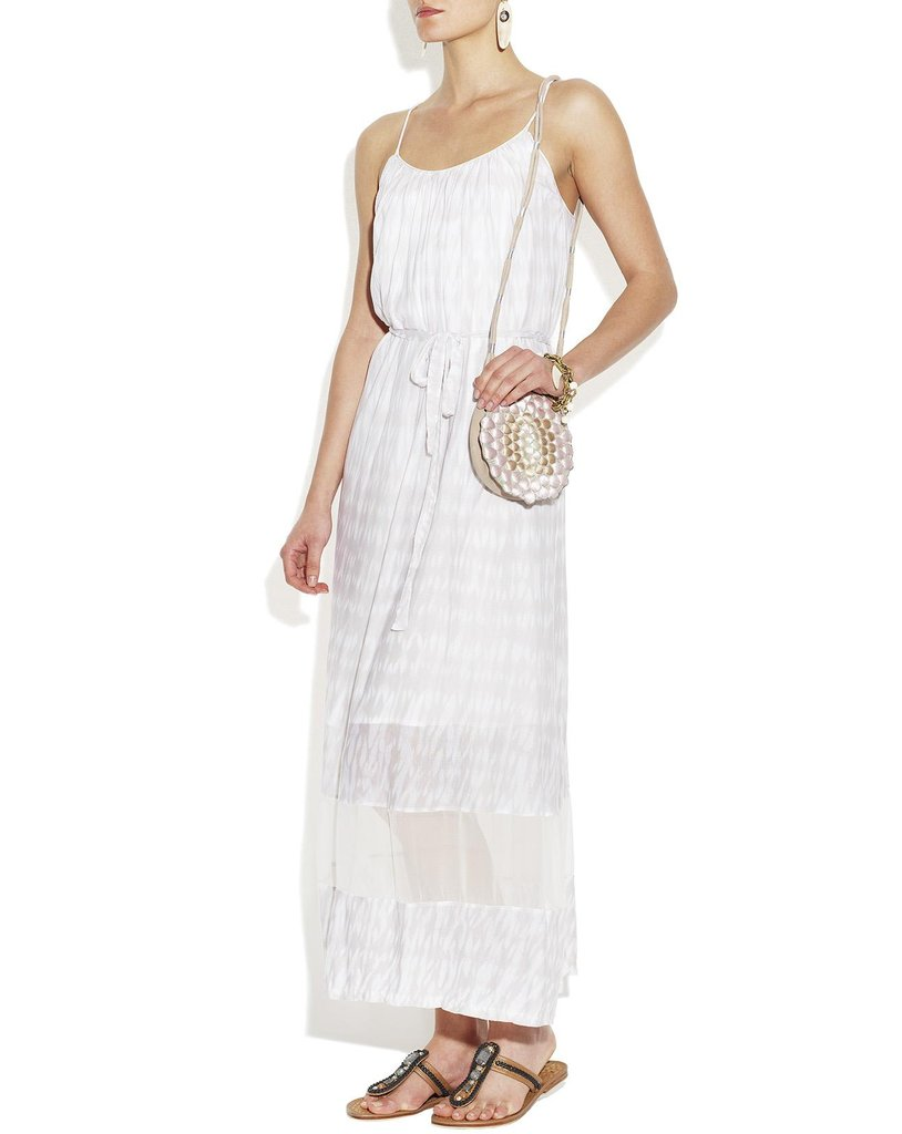 It's the perfect combination of summery sundress and functional in the hottest of temperatures. Thakoon Addition Sheer Panel Sundress ($425)