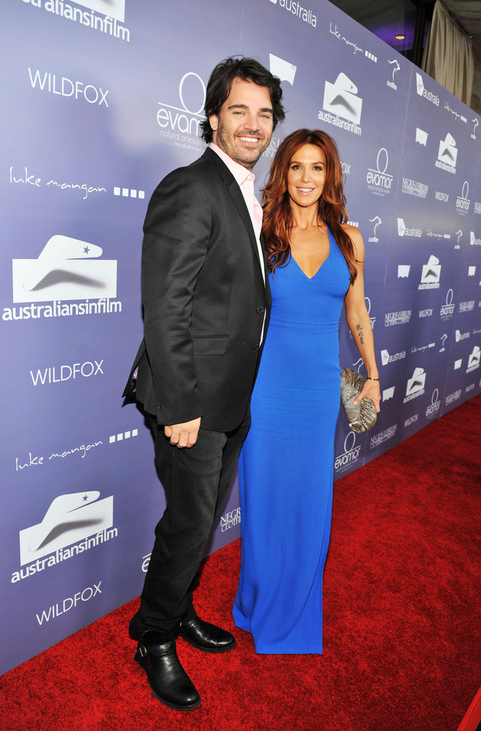 Shawn Sanford and Poppy Montgomery