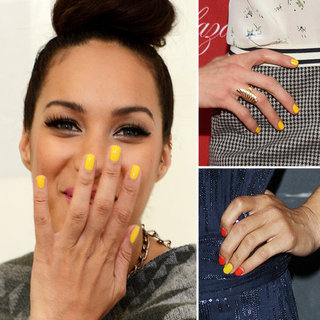 Yellow Nail Polish Trend, Summer 2012