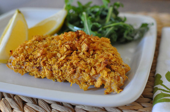 Cornflake-Crusted Fish
