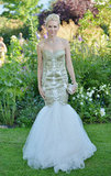 Naomi Watts wore a Marchesa gown.