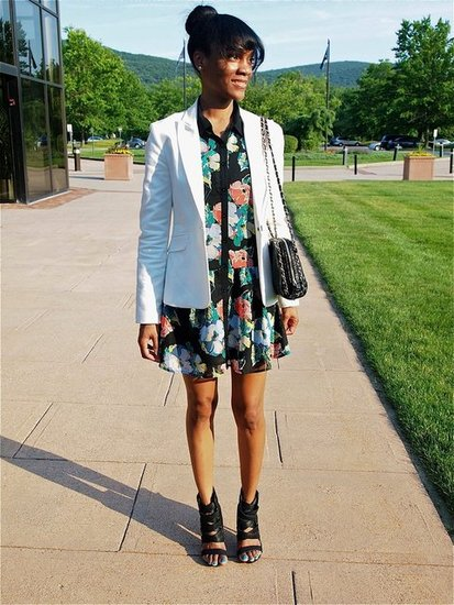 Floral Shirtdress
