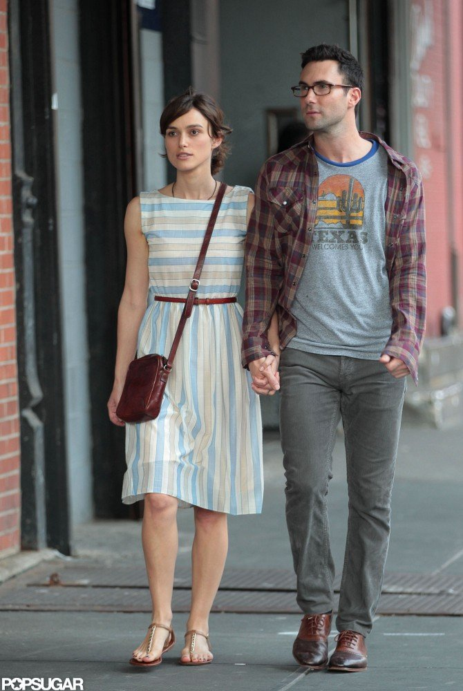 Keira Knightley and Adam Levine Expose Their Movie Romance