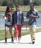 Selena Gomez and Justin Bieber Beat the Heat on an Ice Cream Date