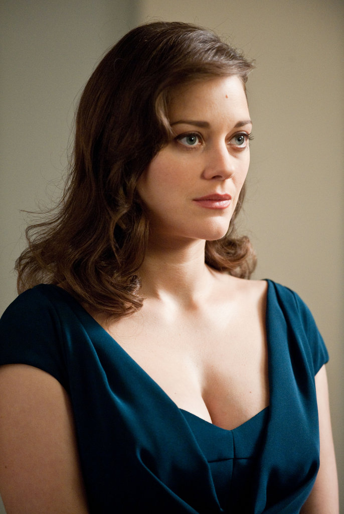 Marion Cotillard in The Dark Knight Rises.  Photo courtesy of Warner Bros.