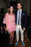 Olivia Palermo and boyfriend Johannes Huebl were in Paris on July 4.