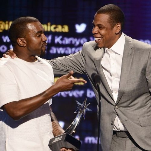 Kanye West and Jay-Z Acceptance Speech at 2012 BET Awards Video Footage