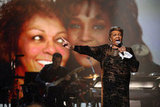 Whitney Houston's mother, Cissy Houston, performed at the BET Awards in LA.