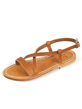 """K. Jacques sandals have been around since the early '30s, which pretty much means these chic, handmade camel-hued sandals are made to ensure the ultimate comfortable fit for walks around St.-Tropez and beyond."" — Chi Diem Chau, associate editor  K. Jacques Flavia Flat Sandals ($225)"