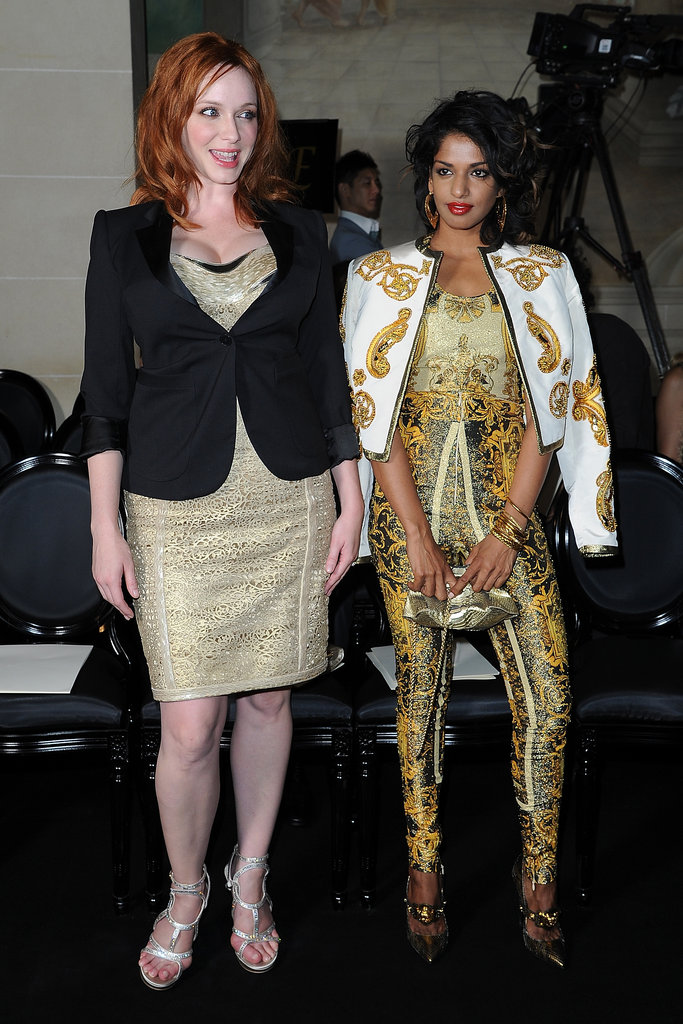 Christina Hendicks and M.I.A