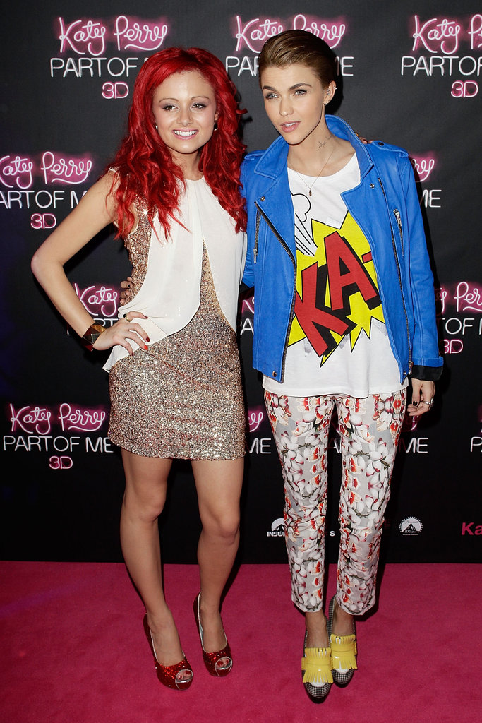 Sarah De Bono and Ruby Rose