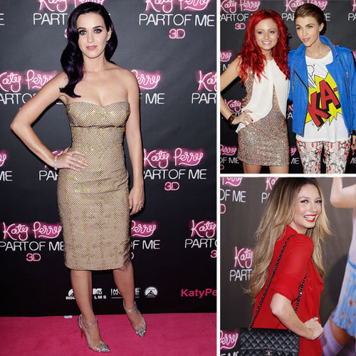 Pictures of Celebrities on the Red Carpet for Katy Perry: Part of Me Australian Premiere in Sydney: Ricki-Lee, Ruby Rose & More