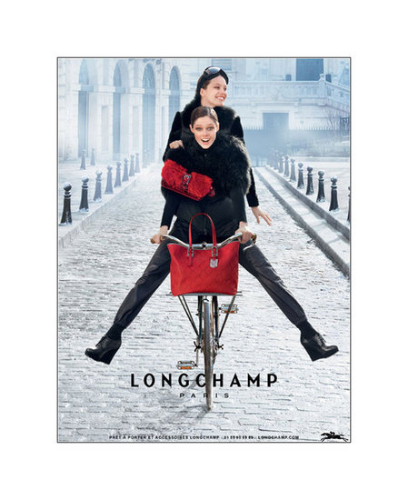 Longchamp Fall 2012 Ad Campaign