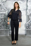 Sofia Coppola attended the Chanel photo call in Paris.