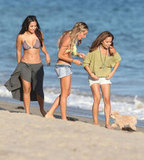 Ashley Tisdale and friends got together in their bikinis for her birthday.