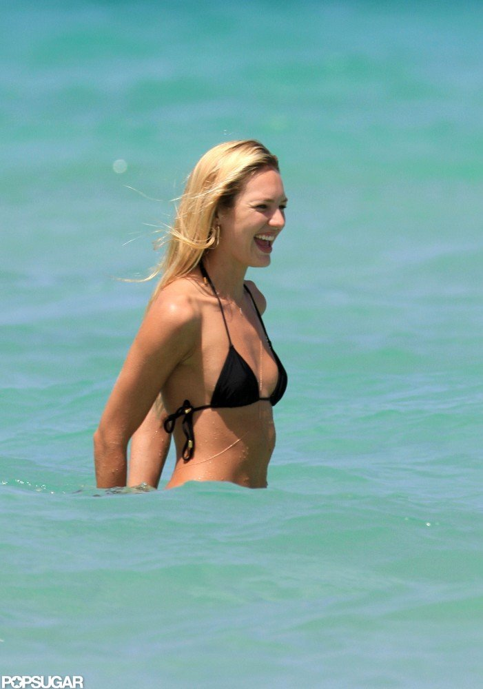 Candice Swanepoel Slips Into a Bikini and Shows Off Her Angelic Curves