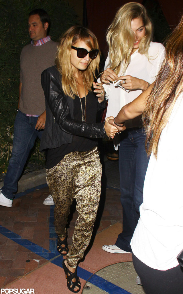 Nicole Richie Has a Girls Night Out in Malibu