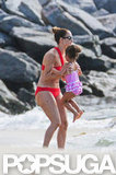 Jennifer Lopez had fun with her daughter in Brazil.