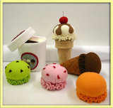 Eva Lauryn Wool Felt Ice Cream Set ($85)