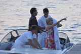 Naomi Watts was on a boat in Croatia.