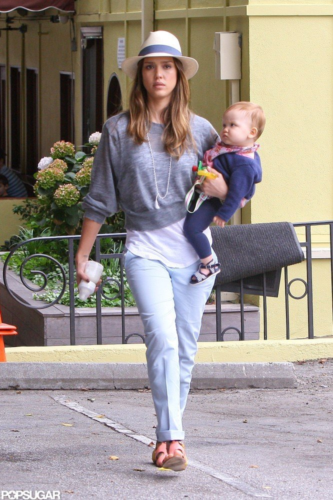 Jessica Alba was out with Haven Warren on the Fourth of July.