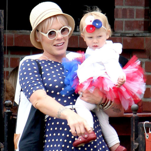 Celebrities on Fourth of July 2012