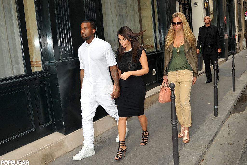 Kim and Kanye Couple Up For Valentino Then Do Dinner With Bar Refaeli