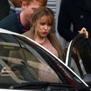 Rachel McAdams Pregnant on Set Pictures