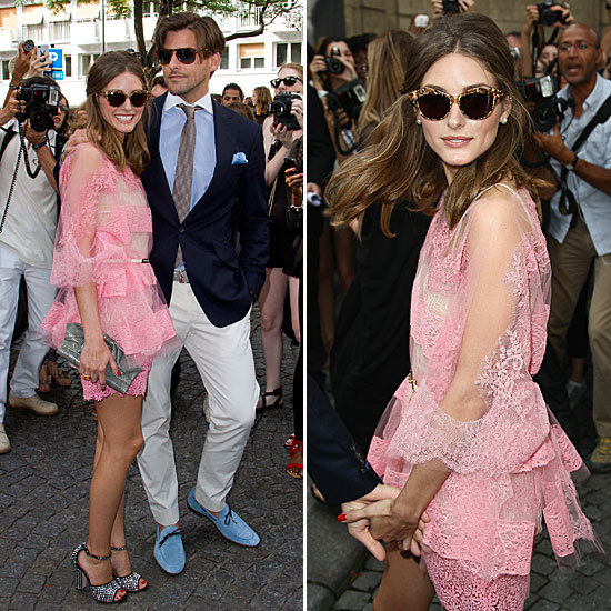Olivia Palermo Is Next-Level Pretty-in-Pink at Valentino
