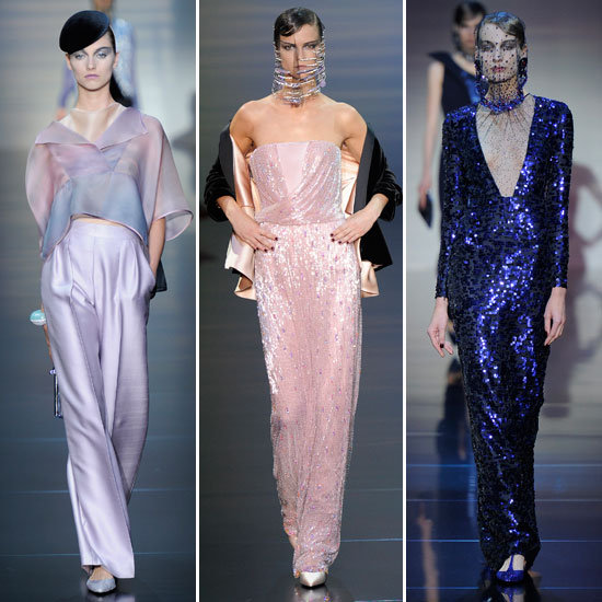 Armani Prive Couture Fall 2012 Collection Pictures