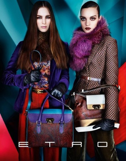 Etro Fall 2012 Ad Campaign