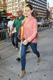 Katie Holmes Kick-Starts Her Day With Shopping