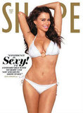 Sofia Vergara got white hot on the cover of Shape's March 2011 issue.