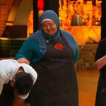 Popular MasterChef Australia 2012 Contestant Amina Elshafei Elimination