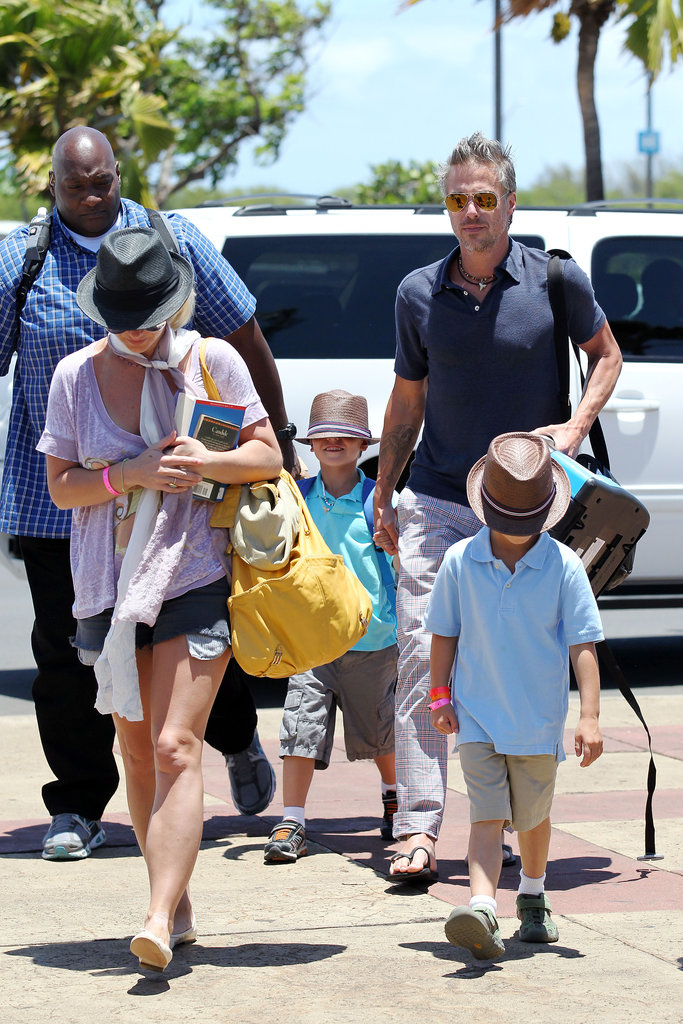 Britney Spears and Her Boys Wrap Up Their Hawaiian Vacation