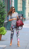 Miranda Kerr Steps Out For a Stylish Sunday