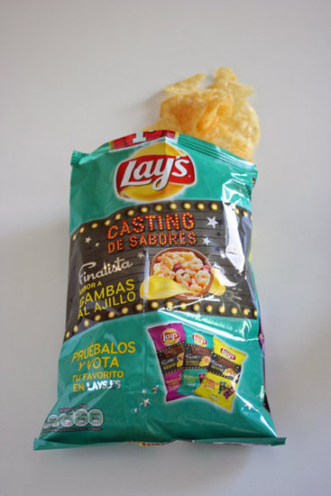Lay&#039;s Spain: Shrimp and Garlic