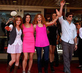 Elizabeth Reaser, Ashley Greene, Rachelle Lefevre, Noot Seear and Peter Facinelli attended Comic-Con together in 2009.