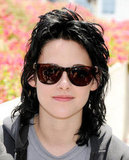 Kristen Stewart showed off her Joan Jett hairstyle in 2009.