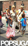 Heidi Klum and her kids were out and about in NYC.