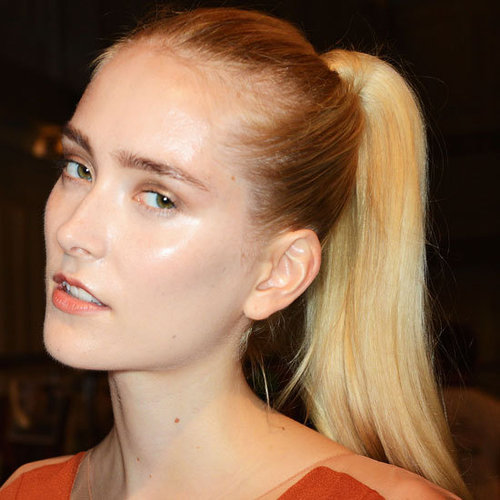 How to Create a Dual-Textured Ponytail