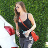 Minka Kelly Red Crossbody Bag