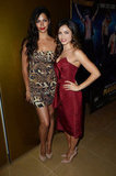 Camila Alves and Jenna Dewan linked up at the Magic Mike premiere in London.