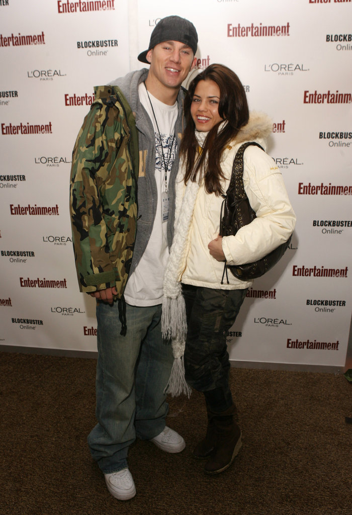 Channing Tatum and Jenna Dewan bundled up for the 2006 Sundance Film Festival.