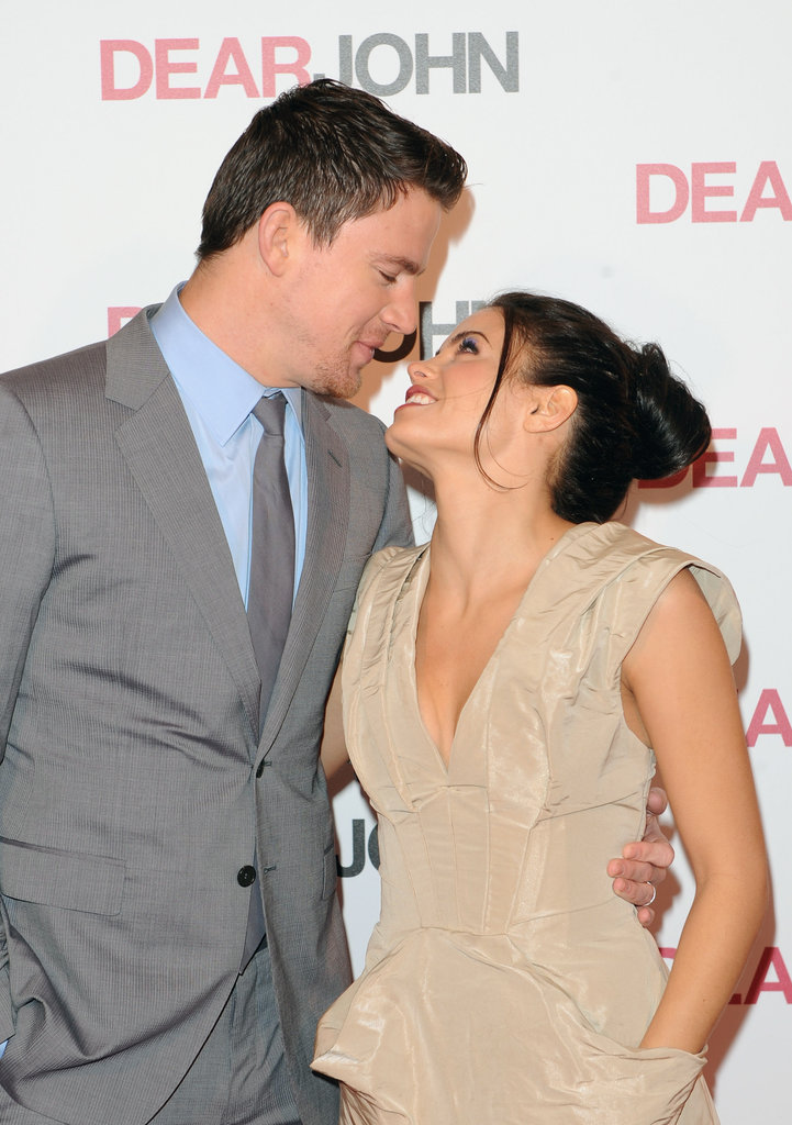 Channing Tatum and Jenna Dewan only had eyes for each other at the March 2010 premiere of Dear John in London.