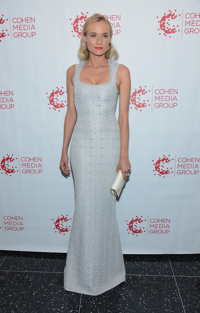Diane Kruger wore an Azzedine Alaia dress.